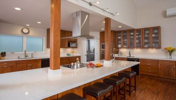 Hawaii Kitchen Remodeler - Homeowners Design Center; Kitchen remodel triple sizes it