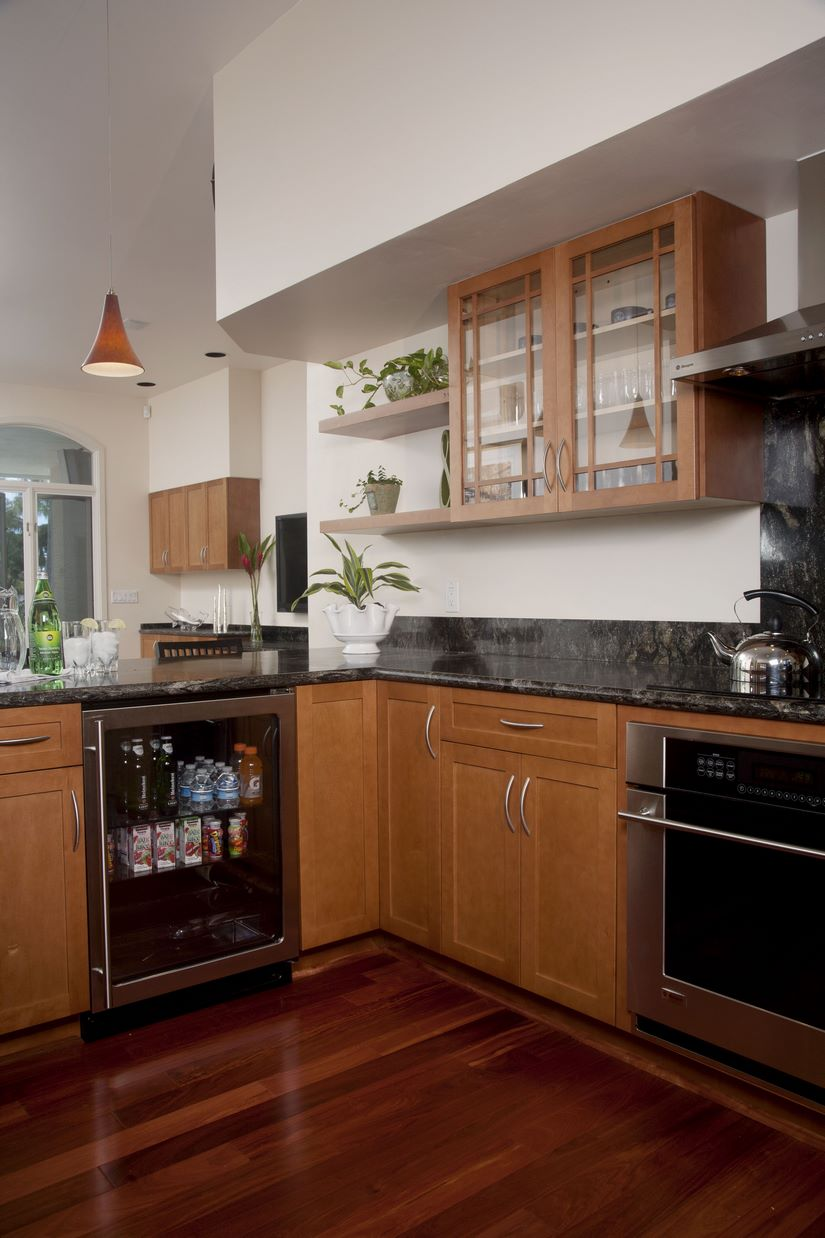 The homeowner had a number of goals she wanted to achieve with the kitchen remodel.