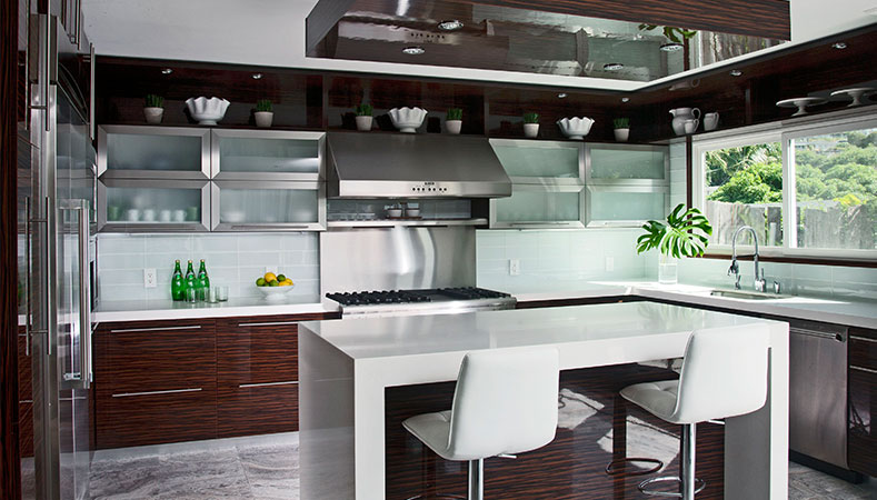 Hawaii Kitchen Remodeler - A kitchen remodel's quest for contemporary style by Homeowners Design Center